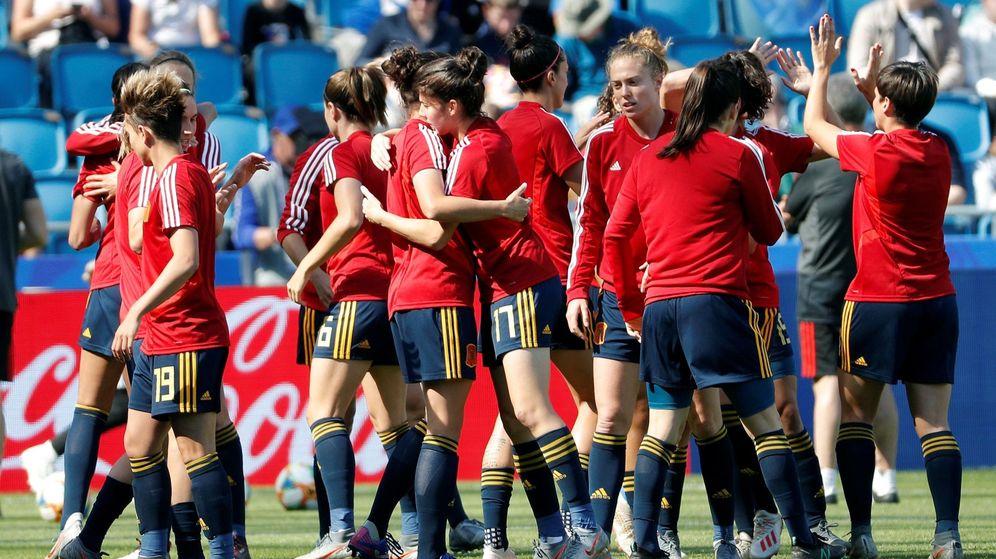 Foto: La Selección, durante el pasado Mundial de Francia. (EFE)