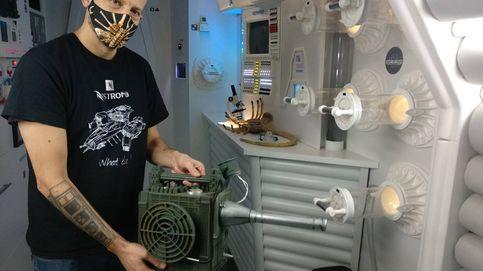 Este hombre ha construido la Nostromo de Alien en un garaje de Barcelona