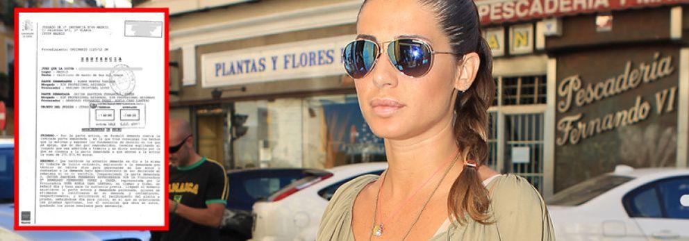 Foto: La justicia condena a Javier Saavedra a pagar 67.000 euros a Elena Tablada