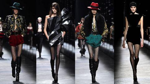 El desfile de Saint Laurent en París revive el fantasma de la anorexia en la moda