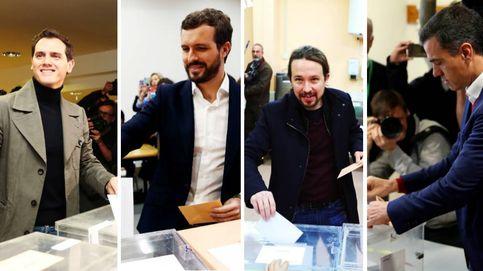 Elecciones generales, en directo | La mañana, sin incidentes y con llamamientos al voto
