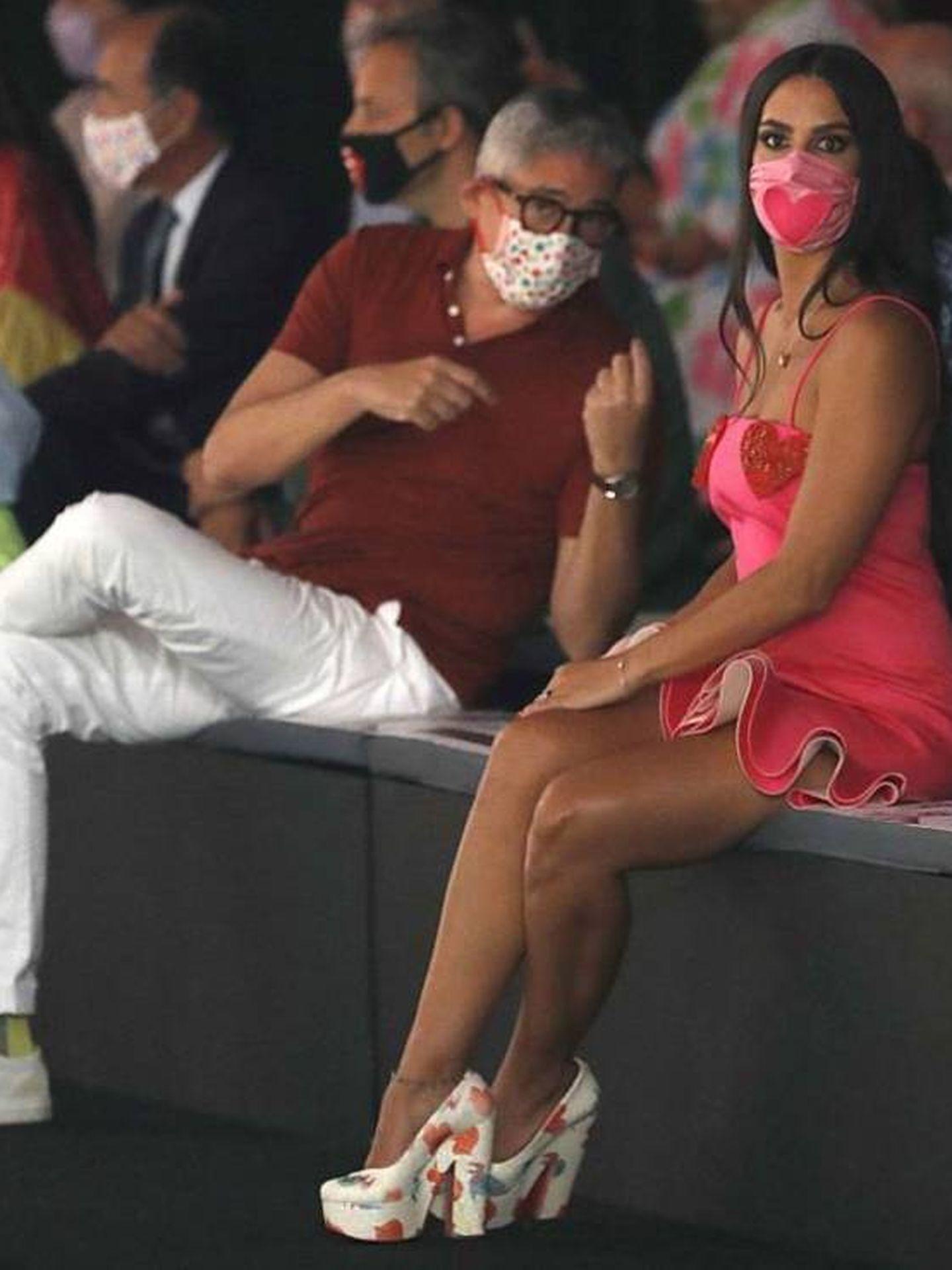 Cristina Pedroche y Boris Izaguirre. (EFE)