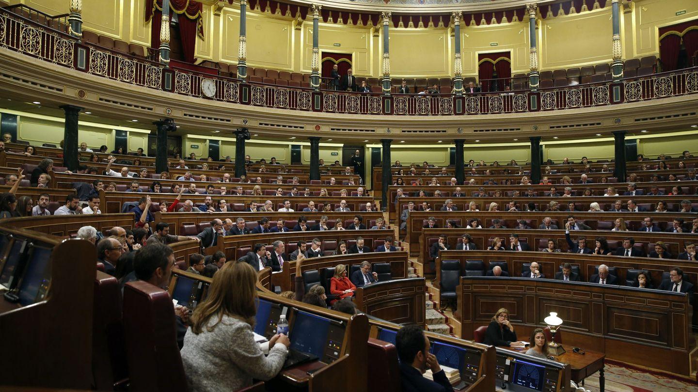 Vista general del pleno del Congreso el 20 de octubre de 2016. (EFE)