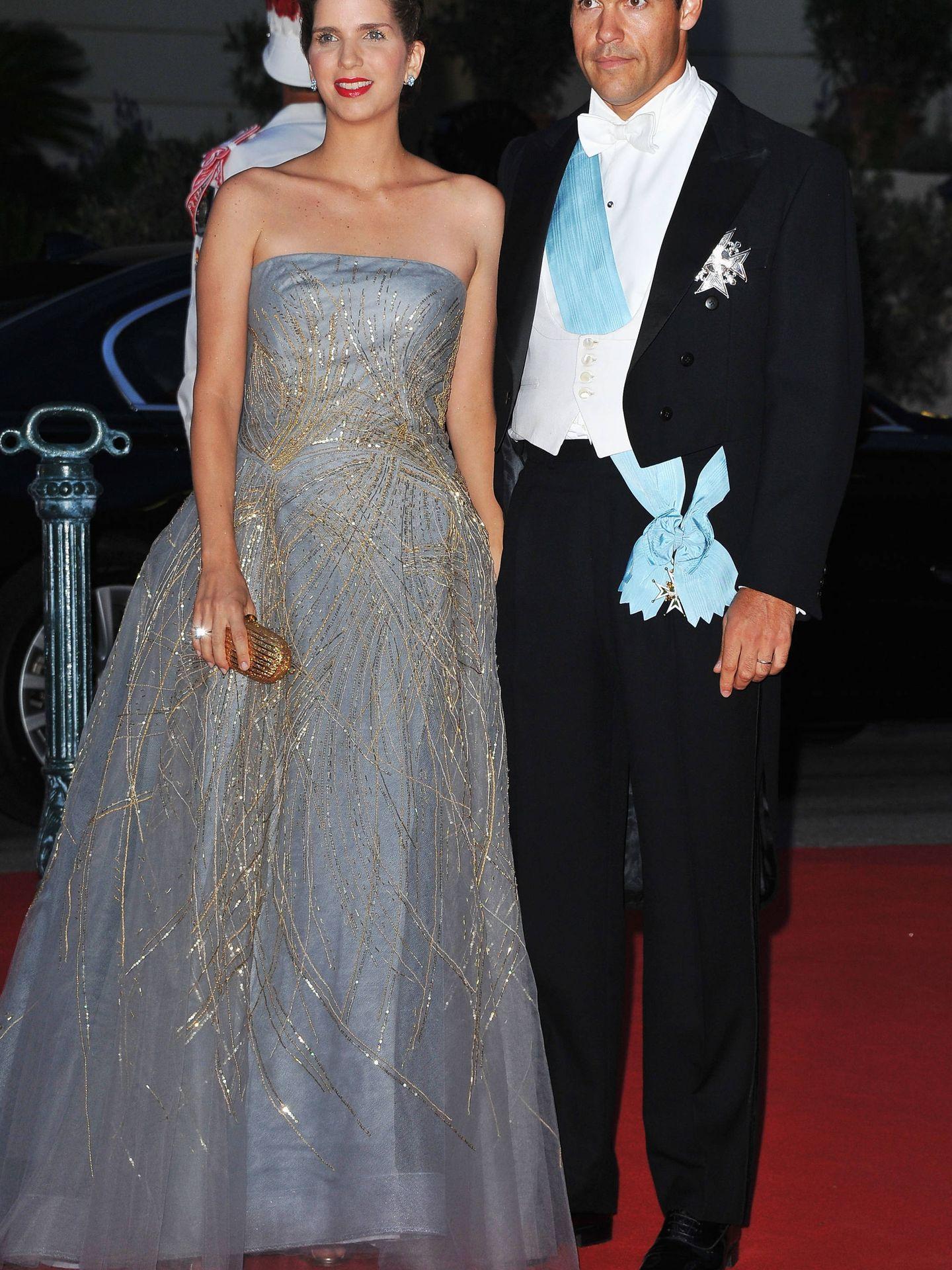 Luis Alfonso de Borbón y Margarita Vargas. (Getty)