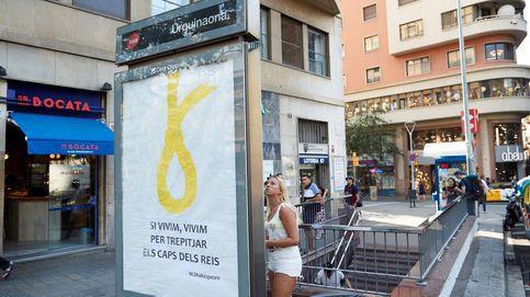 De lazo amarillo a soga: Barcelona amanece con nuevos ataques al rey