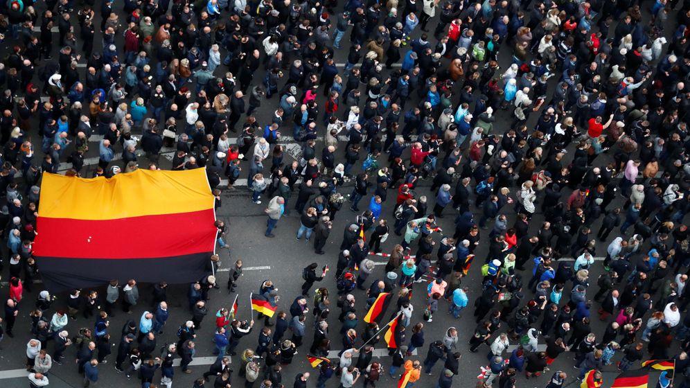 Foto: Concentraciones en Chemnitz (Reuters)