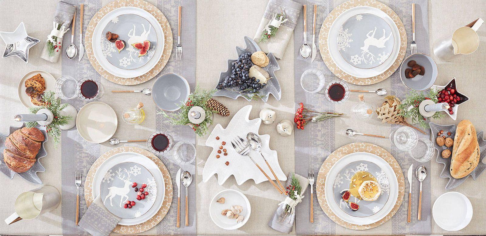 Foto: Todo en orden. Trucos de experto para saber colocar perfectamente vajilla, cristalería y cubertería en tu mesa de Navidad (Zara Home)