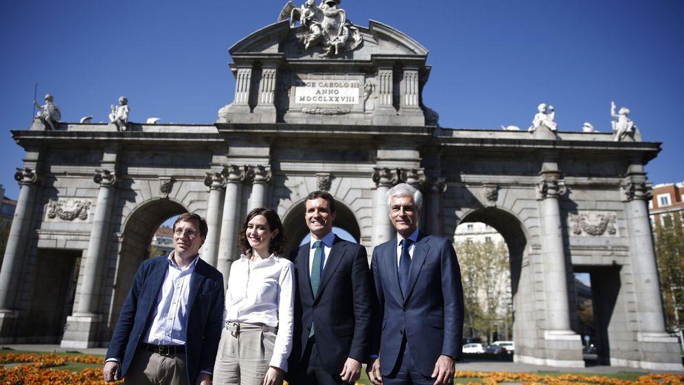 Foto: Pablo casado presenta las listas del PP