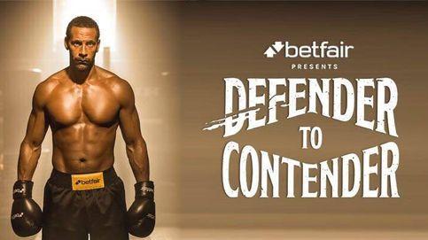 A Ferdinand le apetece que le peguen: se hace en boxeador para ganar un cinturón