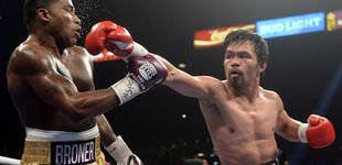 Post de Manny Pacquiao vence y reta a Mayweather: