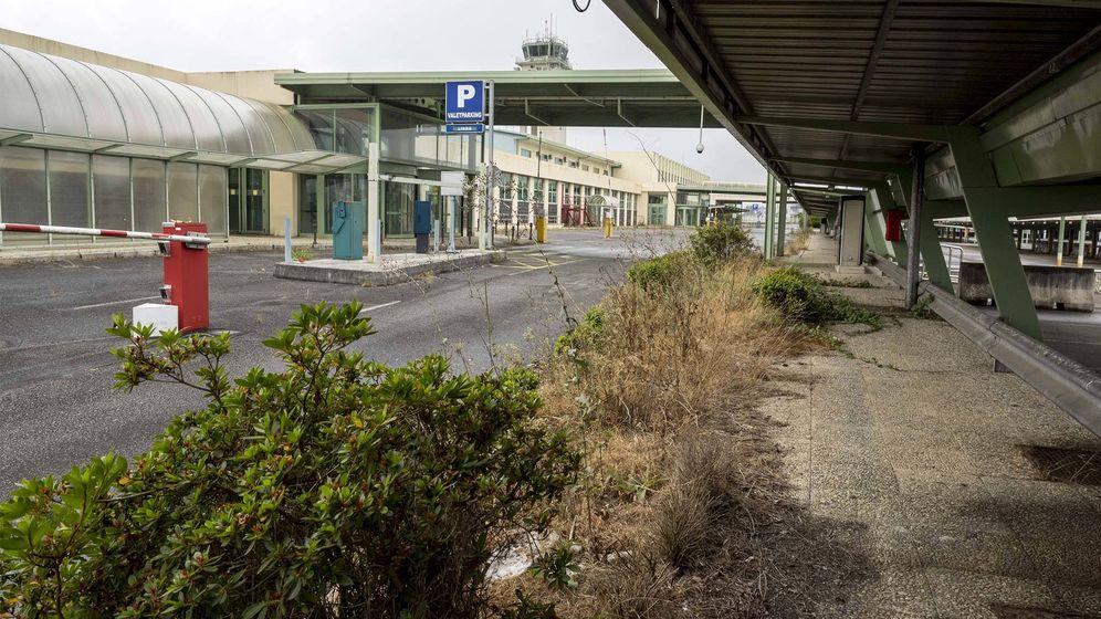 Foto: Terminal de Lavacolla, Santiago de Compostela. (Foto: Anxo Iglesias)