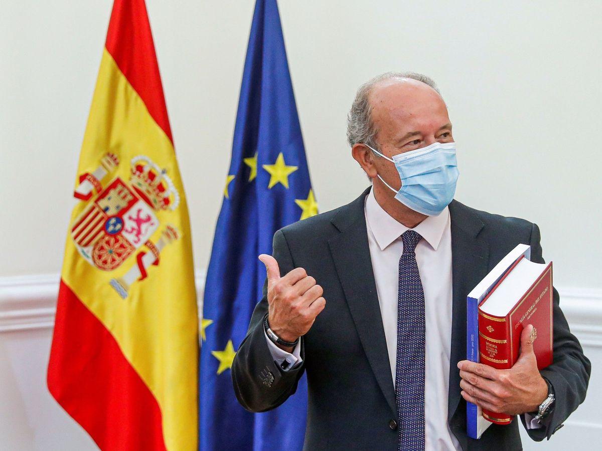 Foto: El ministro de Justicia, Juan Carlos Campo (EFE)