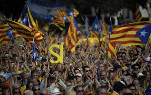 La Generalitat sigue adelante y habilita 6.430 mesas para votar