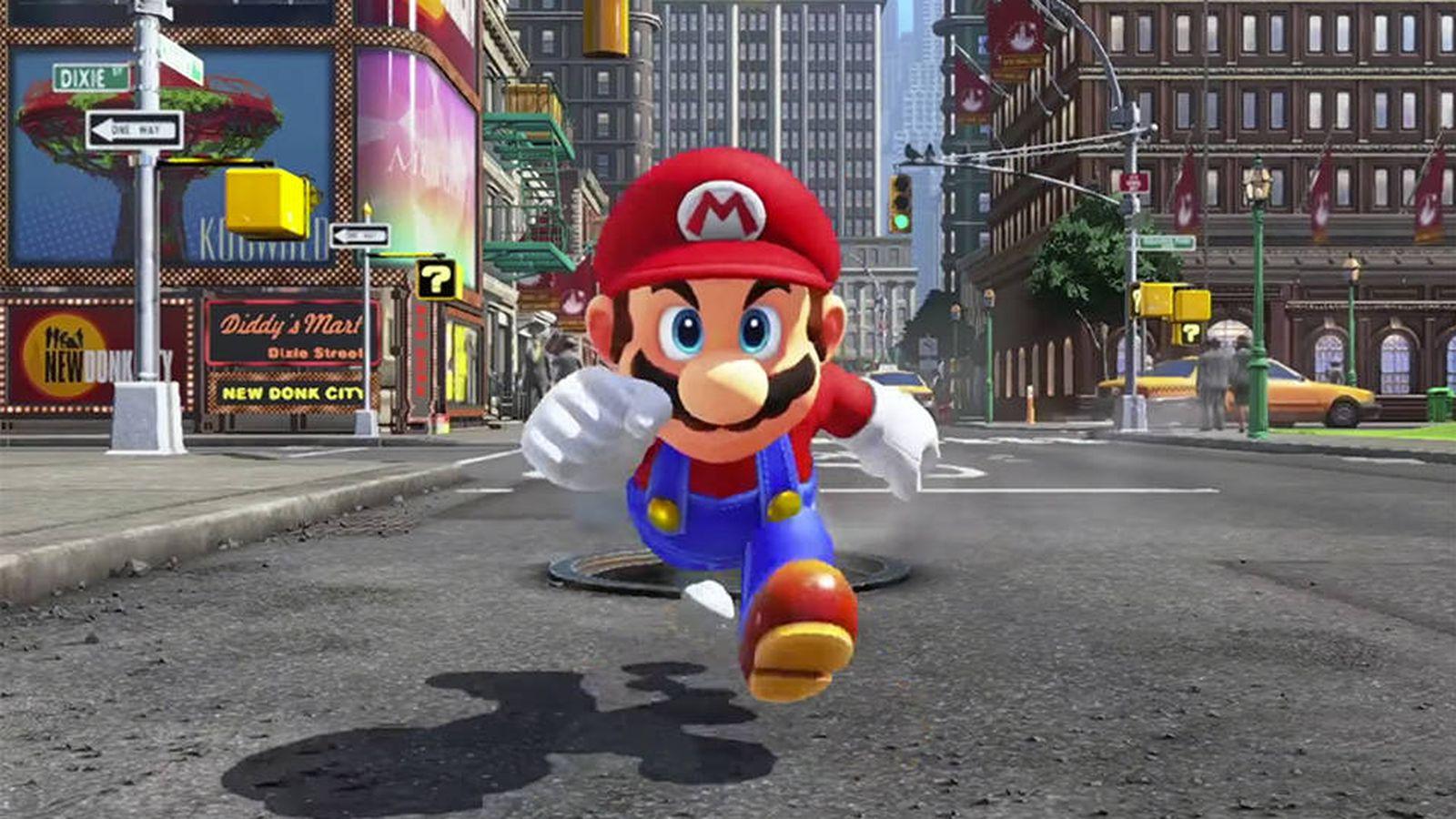 Foto: 'Mario Odyssey', claro candidato a mejor juego del año.