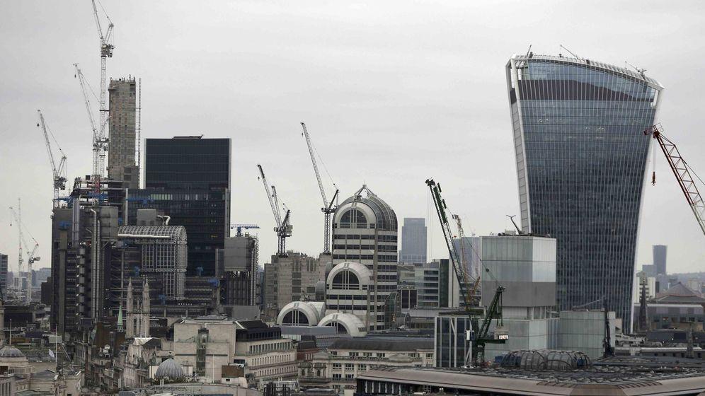 Foto: El 'skyline' de la City de Londres. (Reuters)