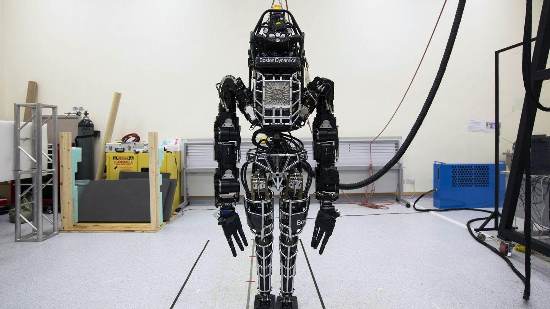 Vista de uno de los robots bípedos de Boston Dynamics. (Reuters)