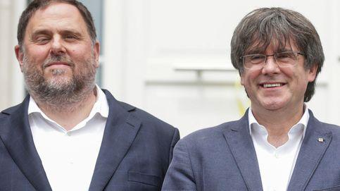Puigdemont vs. Junqueras: el reencuentro personal no oculta su desencuentro político