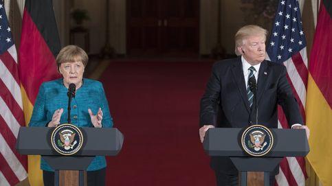 Trump niega la cobra a Merkel: Tuve un gran encuentro con la canciller alemana