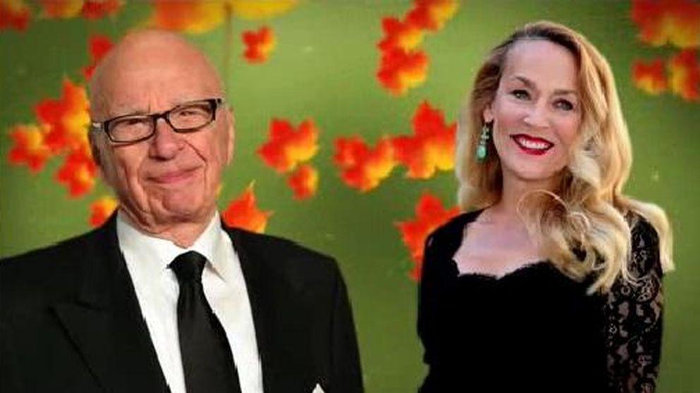 Rupert Murdoch le roba la novia a Mick Jagger