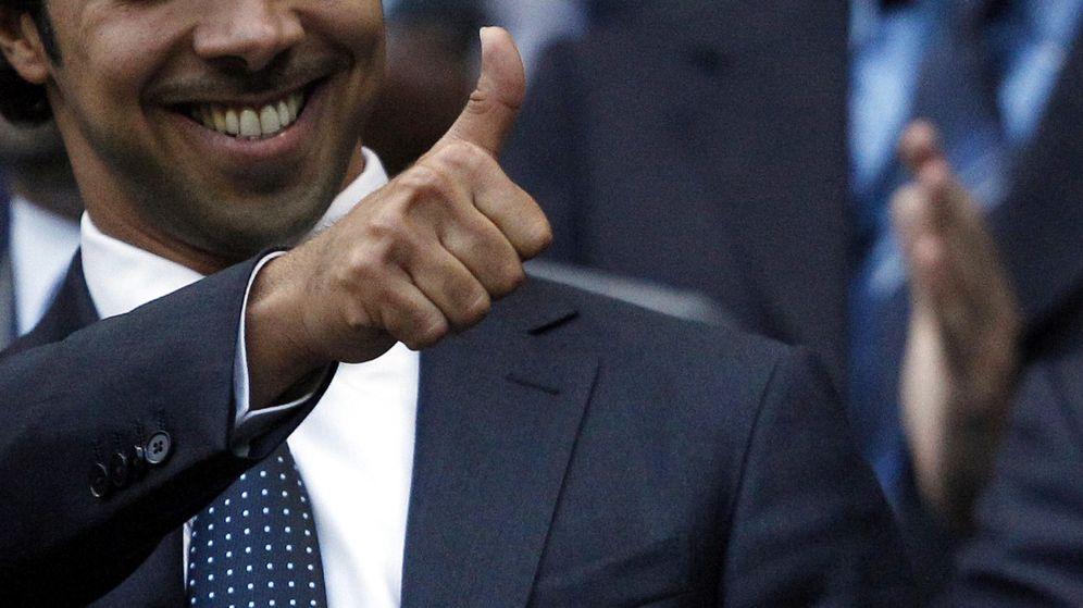 Foto: Mansour bin Zayed, máximo mandatario del Manchester City (Reuters).