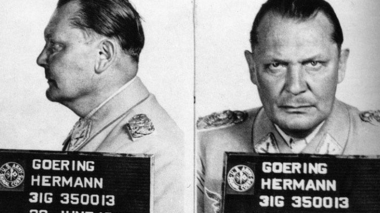 Ficha policial de Herman Goering