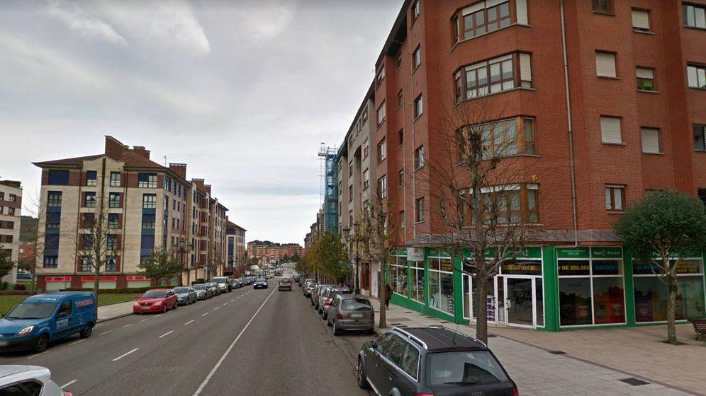 Foto: La Avenida del Mar, en Oviedo, donde tuvo lugar el incidente (Foto: Google Maps)