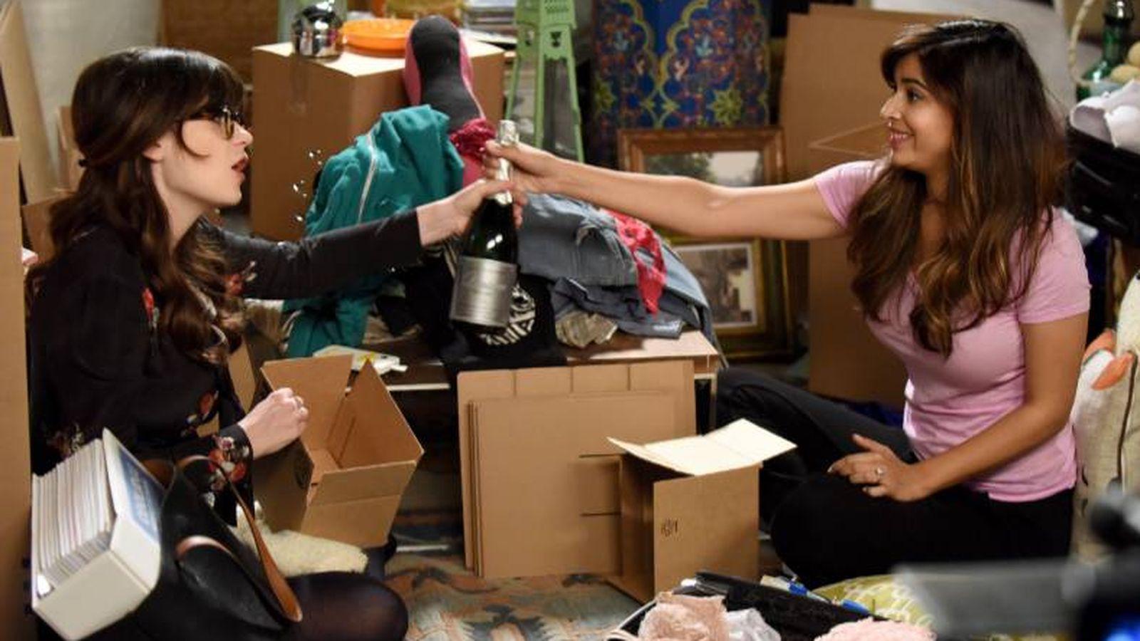 Foto: ¿Y si haces una fiesta de despedida y otra de inauguración? (Imagen: New Girl)