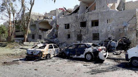 Al menos 21 muertos por un atentado con tres coches bomba en Damasco