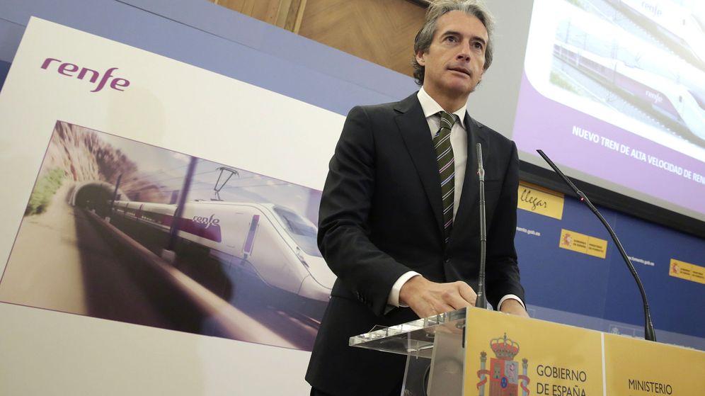 Foto: Íñigo de la serna comparece para dar a conocer el ganador del contrato de trenes de alta velocidad
