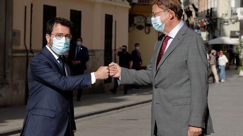 Fondos UE, automoción… Aragonès y Puig exploran un corredor de intereses