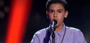 Post de Hugo Sánchez da la campanada en 'La Voz Kids' con la primera saeta