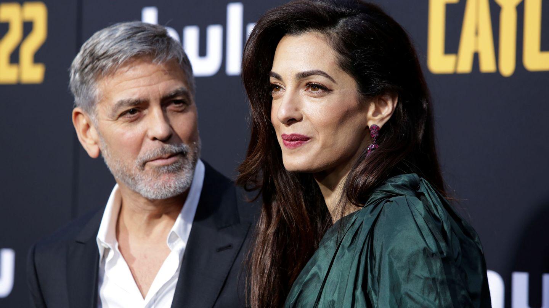 George y Amal Clooney, en una imagen de archivo. (Reuters)