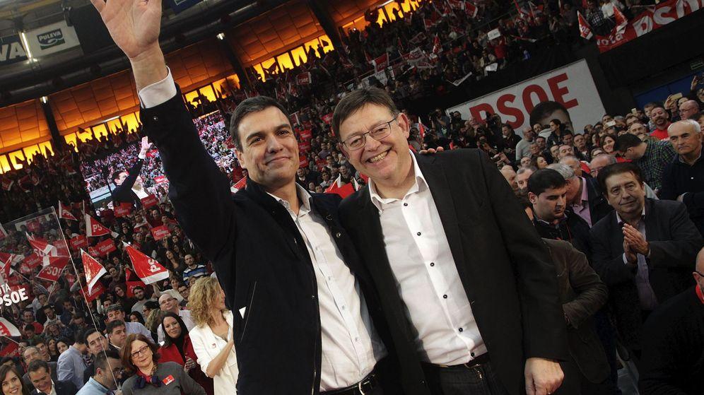 Foto: Pedro Sánchez y Ximo Puig, en las últimas elecciones generales. (EFE)