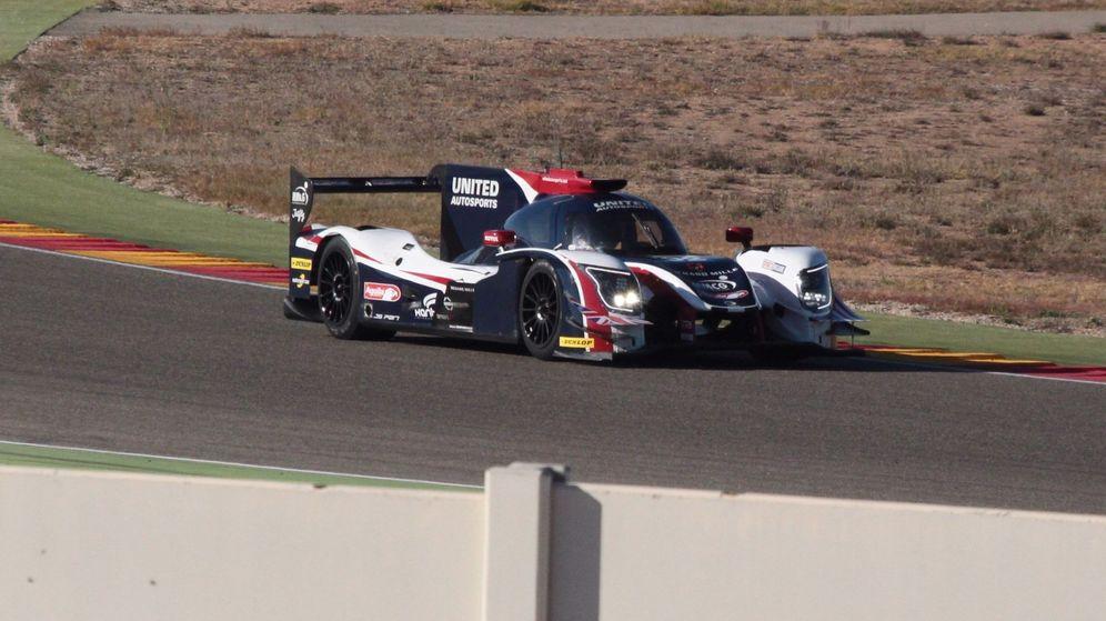 Foto: En noviembre, Alonso ya probó en Motorland Aragón el Ligier JS P217 con el que competirá en Daytona. (EFE)