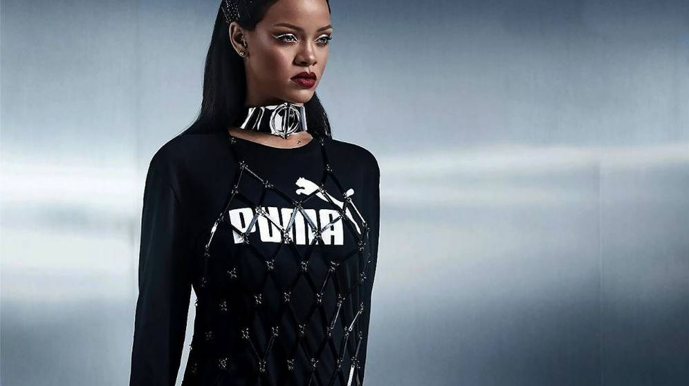 Foto: Imagen de la campaña de Rihanna para Puma. (Cortesía)