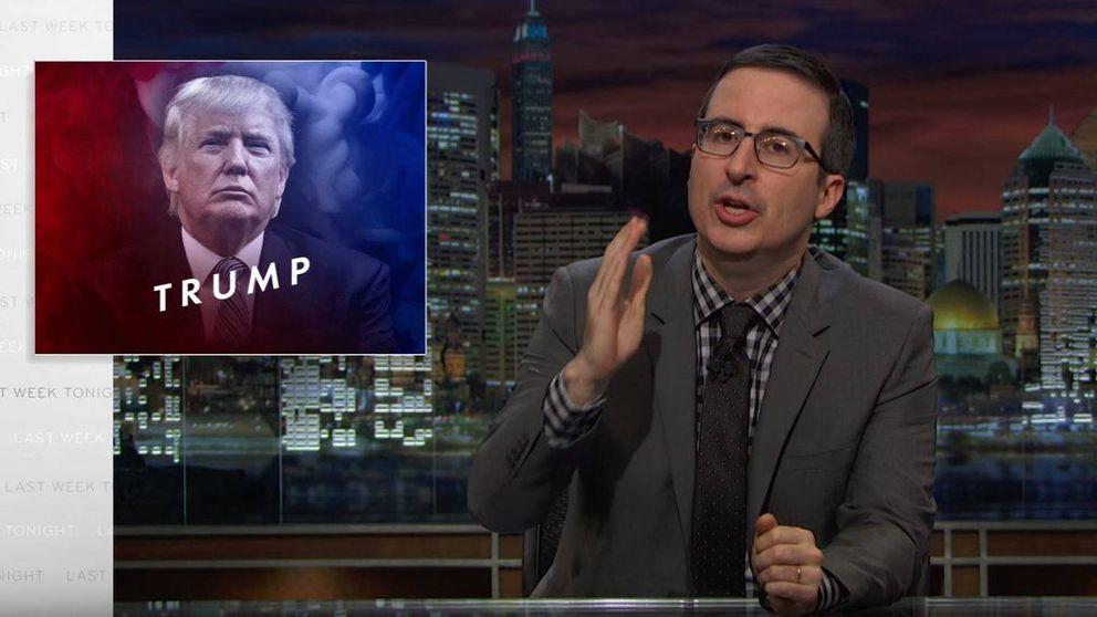 Análisis de John Oliver sobre Donald Trump: más de 30,8 millones