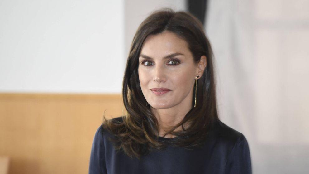 La estrategia de la reina Letizia para que no se hable de su look esta semana