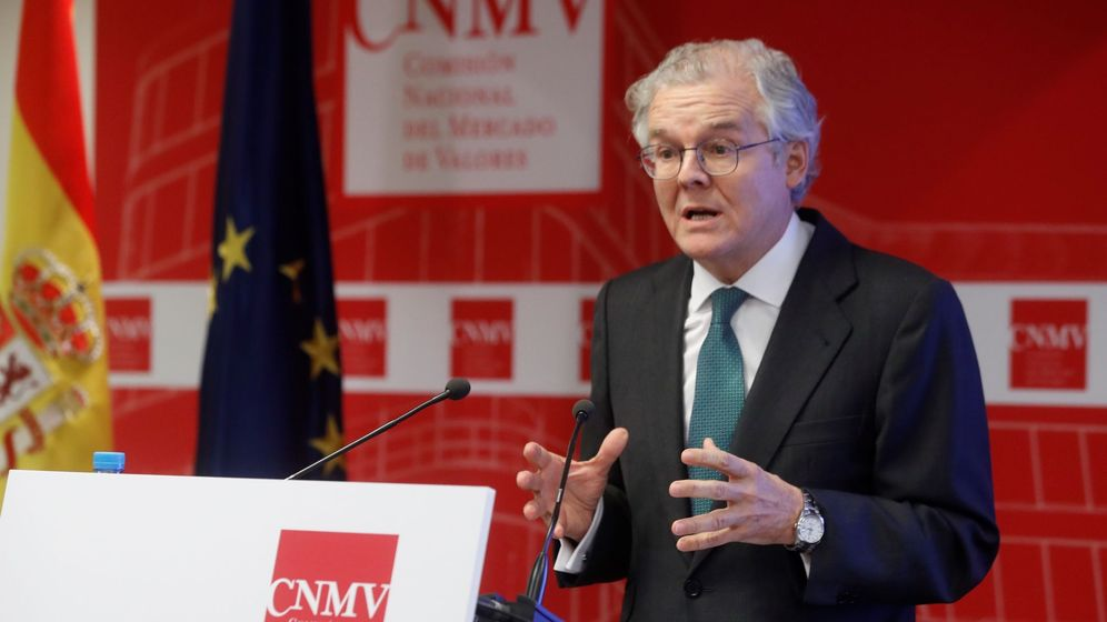 Foto: El presidente de la CNMV, Sebastián Albella. (EFE)