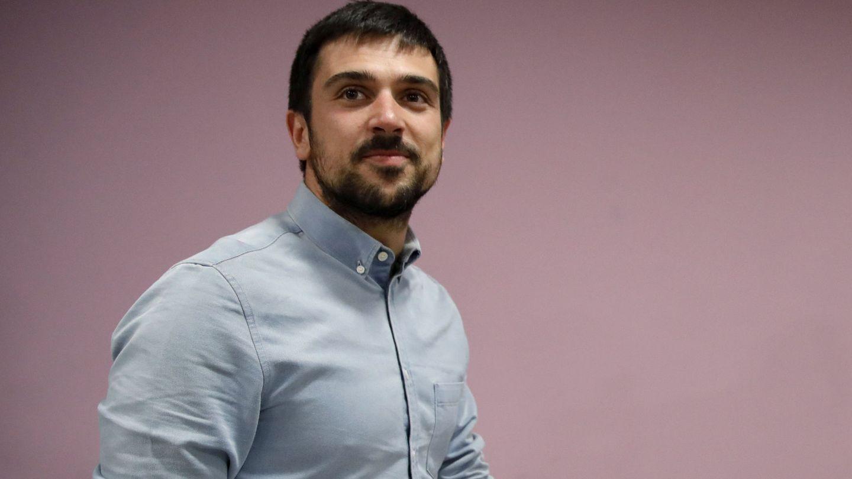 Ramón Espinar, secretario general y portavoz de Podemos en el Senado y diputado regional en la Asamblea de Madrid. (EFE)