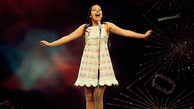 Massiel en Eurovision 1968. (RTVE)