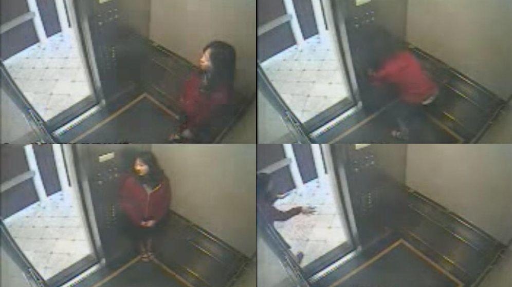 Foto: Elisa durante el perturbador vídeo.