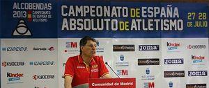 José María Odriozola anuncia un equipo de más de 50 atletas para el Mundial de Moscú