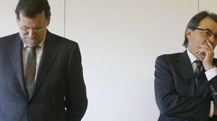 Artur Mas, 3 - Rajoy, 0