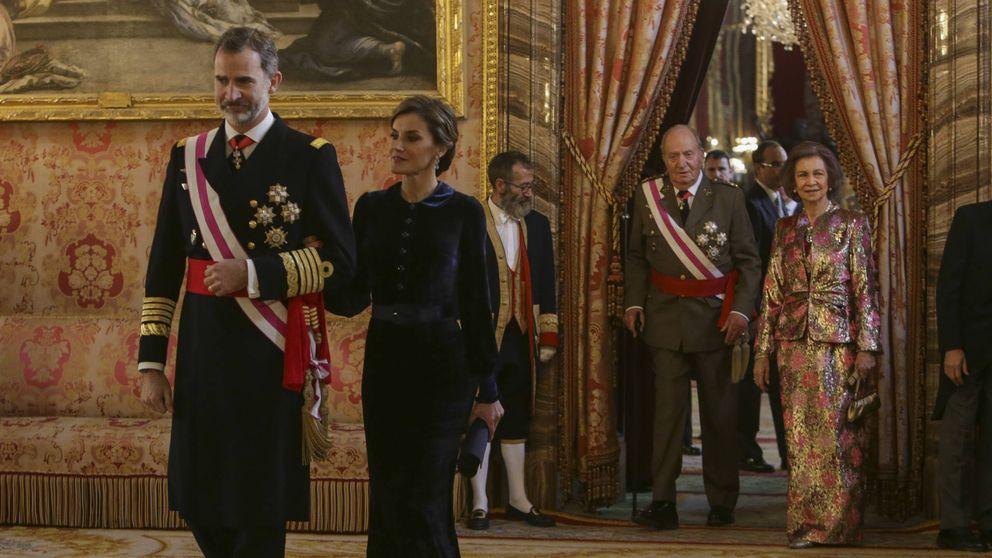 ÁLBUM: Felipe VI preside la Pascua Militar con la presencia de Juan Carlos
