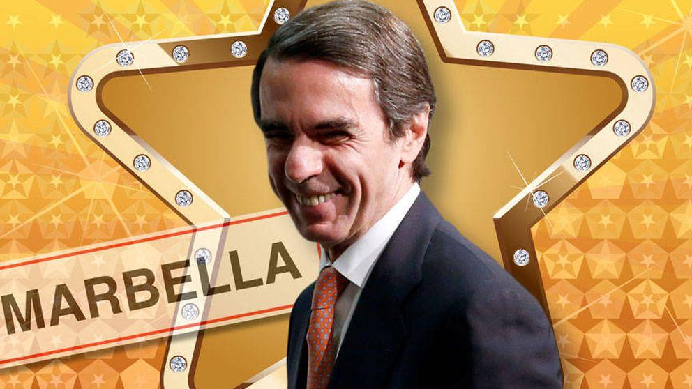 José María Aznar, la nueva estrella del 'star system' español