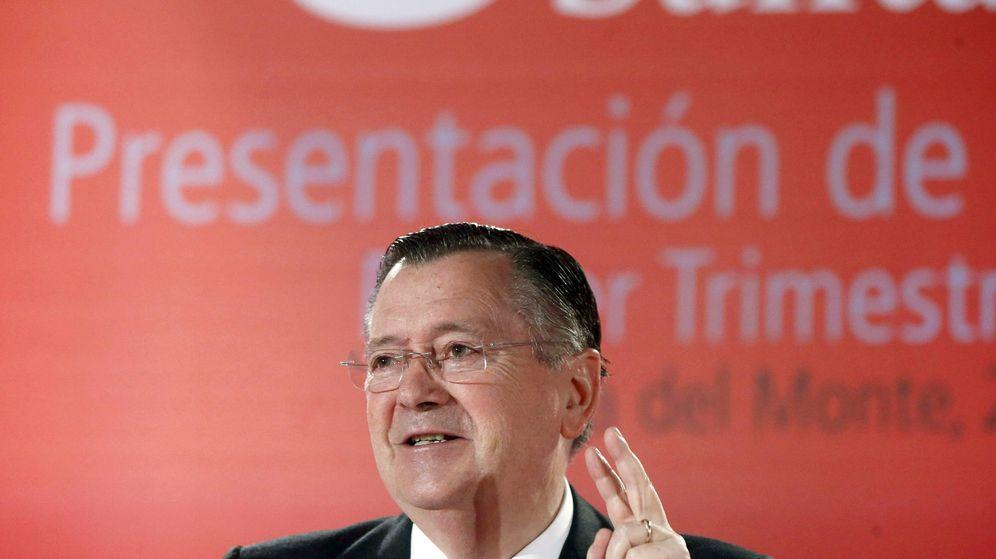 Foto: El exconsejero delegado del Banco Santander Alfredo Sáenz. (EFE)
