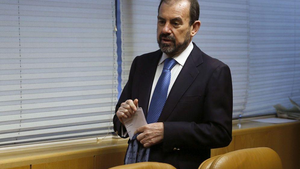Foto: Ángel Torres, presidente del Getafe. (Efe).