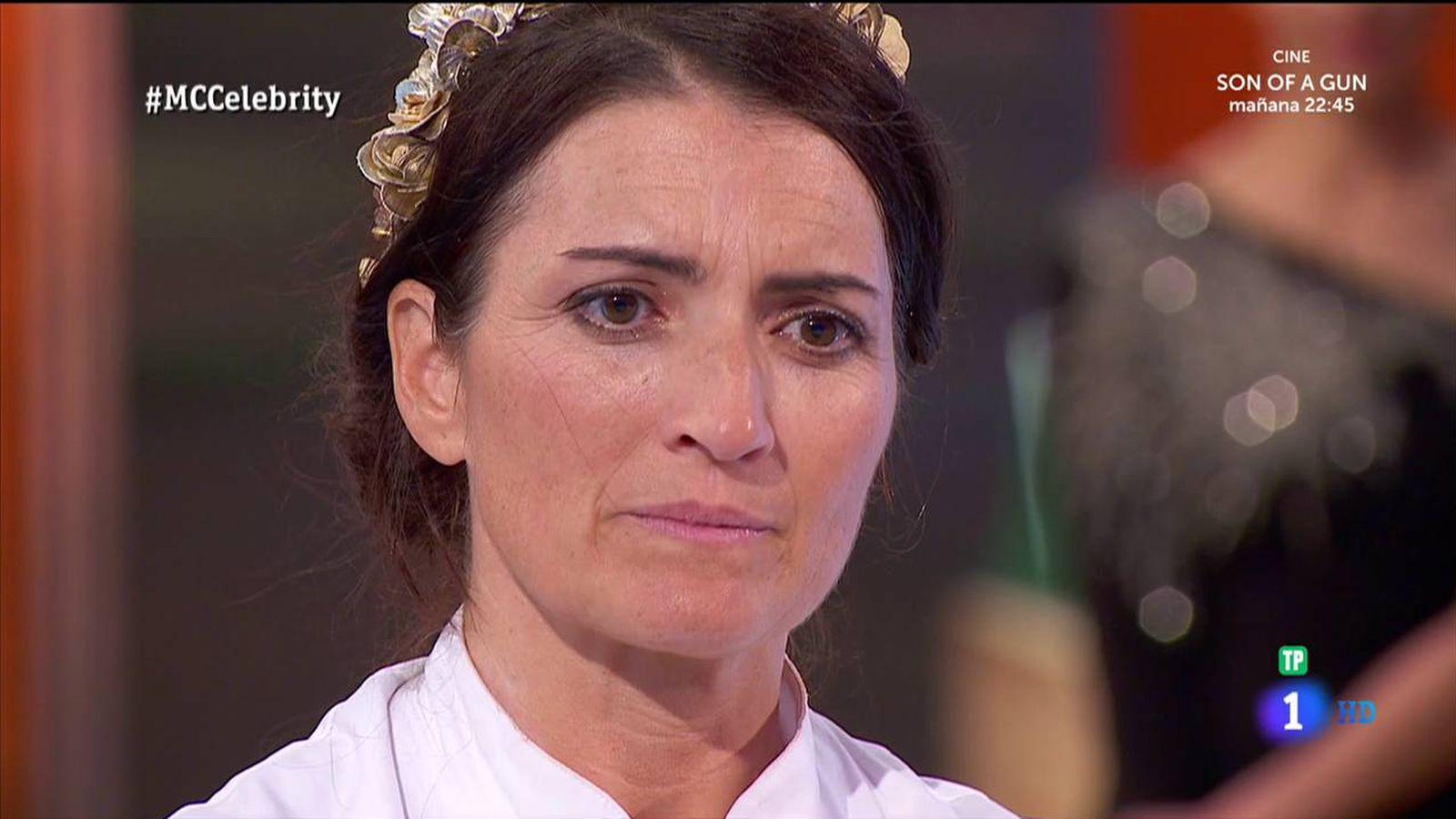 Foto: Silvia Abril, segunda clasificada de 'MasterChef Celebrity 2'. (RTVE)
