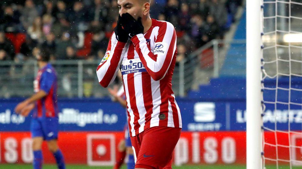 Foto: El Atlético de Madrid se queda a ocho puntos del Real Madrid, líder de LaLiga. (EFE)