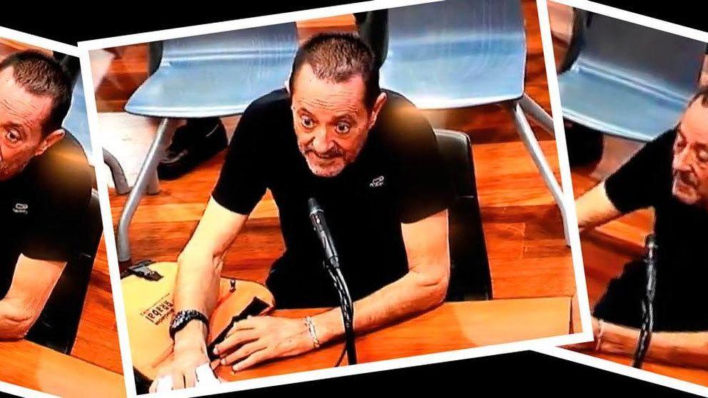El demacrado aspecto de Julián Muñoz en los juzgados de Málaga